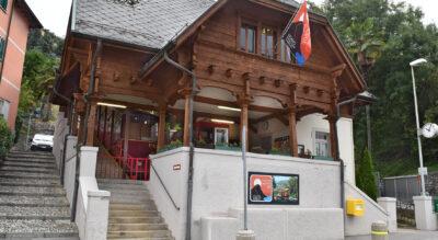 Wanderung vom Monte Brè, oberhalb von Lugano, nach Gandria am Luganersee / Lago di Lugano