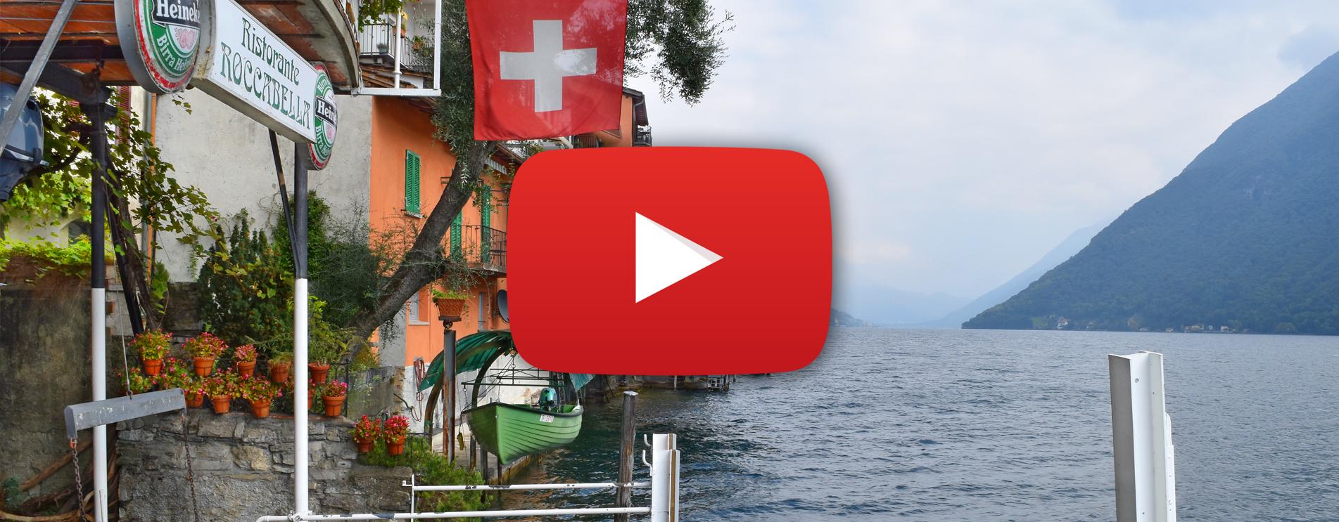 Film zur Wanderung vom Monte Brè nach Gandria am Luganersee