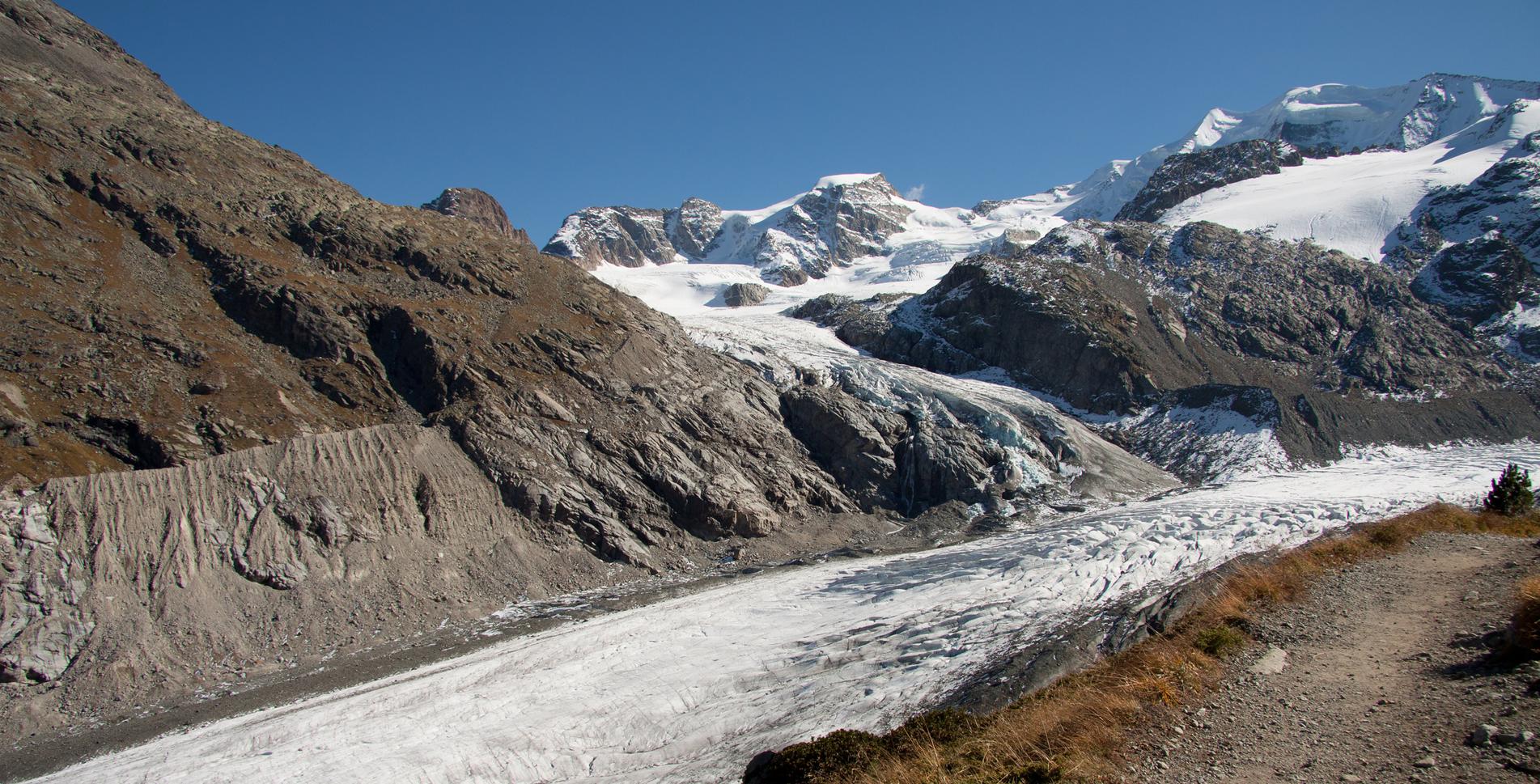 Gletscherwanderung Morteratsch – Bovalhütte