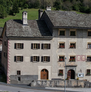 Museo Ciäsa Granda in Stampa, Bergell
