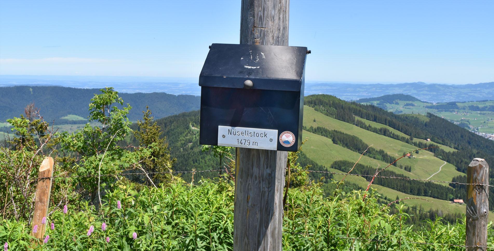 Wanderung im Alptal von Trachslau, nähe Einsiedeln, auf den Nüsellstock und zum Höch Tändli mit Abstieg wieder ins Alpthal