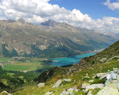 Wanderungen im Oberengadin, Graubünden