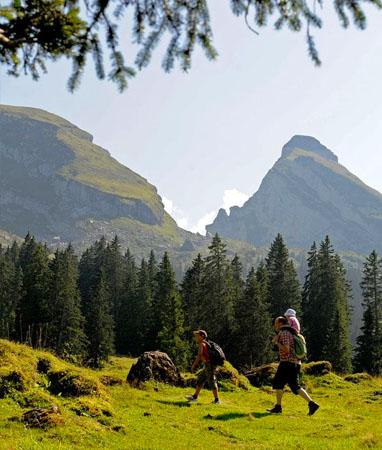 Ostschweiz – Wanderferien und Wandern ohne Gepäck