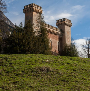 Palazzo Castelmur in Stampa im Bergell / Bregaglia