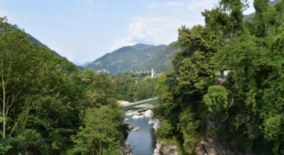 Wanderung im Maggiatal / Vallemaggia von Ponte Brolla via Avegno, Aurigeno, Moghegno nach Maggia