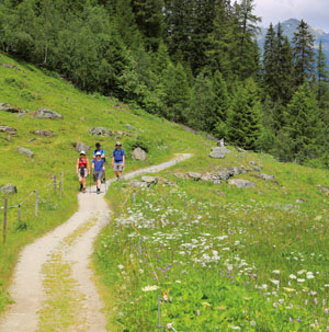 Wandern im Prättigau mit über 1000 km signalisierten Wanderwegen mit den Regionen Davos und Klosters. Ein Paradies für Wanderungen!