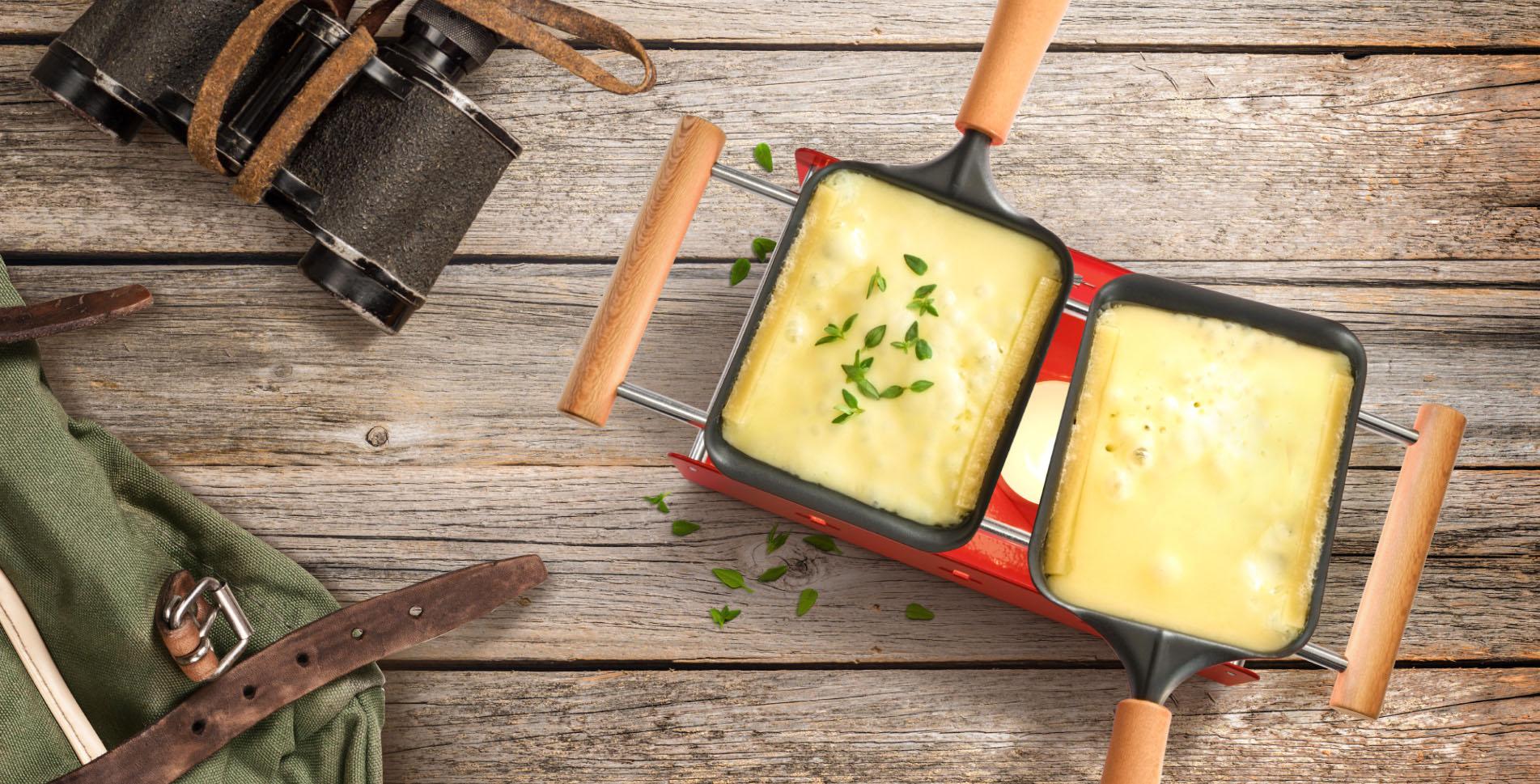Reaclette-Öfeli von Raclette Suisse – Twiny Cheese