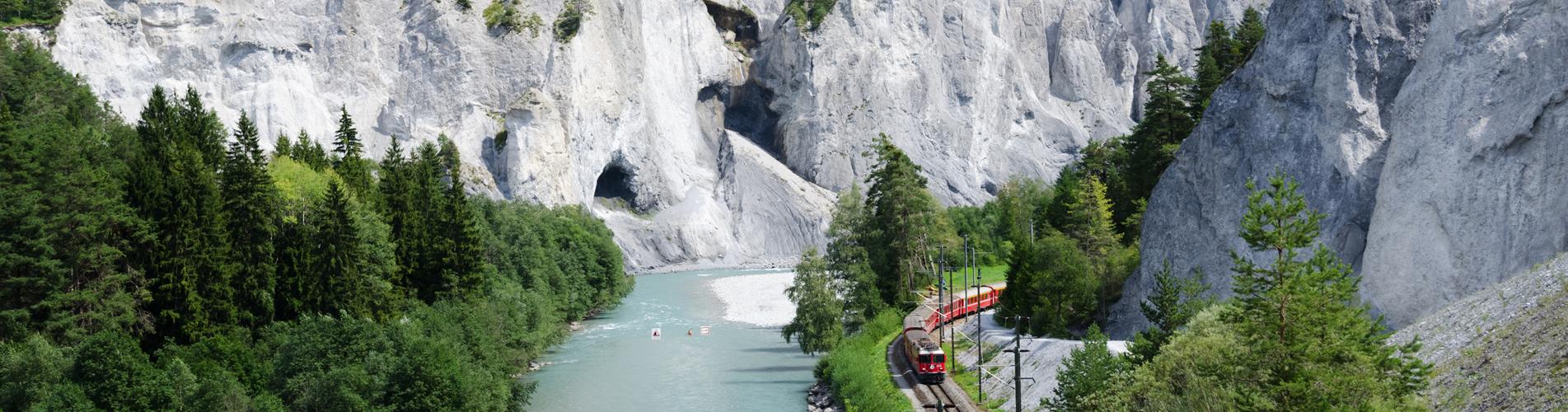 Wanderung durch die Rheinschlucht