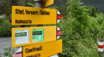 Wanderung durch die Rheinschlucht / Ruinaulta von Valendas-Sagogn nach Versam-Safien mit tollen Aussichten und Feuerstellen