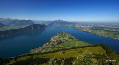 Wanderung vom Urmiberg auf die Rigi Scheidegg