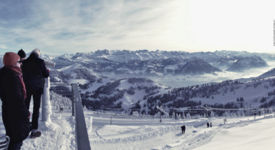Winterwanderung von der Rigi Kulm via Rigi Staffel, Rigi Staffelhöhe, Chänzerli / Känzerli, Rigi Kaltbad, Rigi First nach Rigi Klösterli