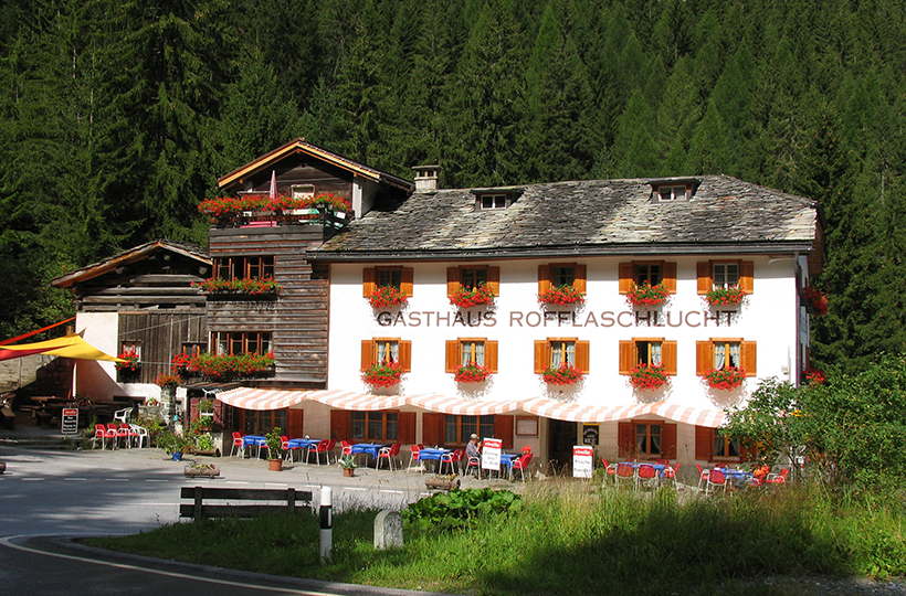 Gasthaus Rofflaschlucht, Andeer