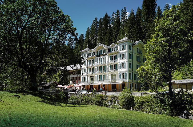 Hotel Rosenlaui, Haslital