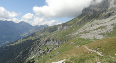 Wanderung zur Rugghubelhütte SAC, 2290 m.ü.M., hoch über Engelberg