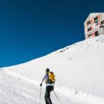 Winterwanderung zur Britanniahütte, Felskinn – Felskinn (Saas Fee)