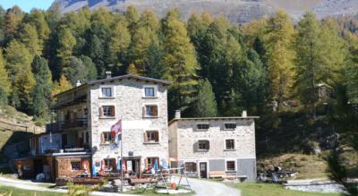 Rundwanderung im Val da Camp von Sfazù zum Rifugio Saoseo CAS und Lagh da Saoseo