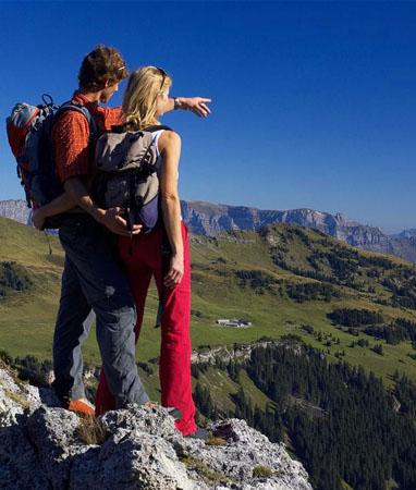 Sardona Welterbe Weg – Wanderferien und Wandern ohne Gepäck