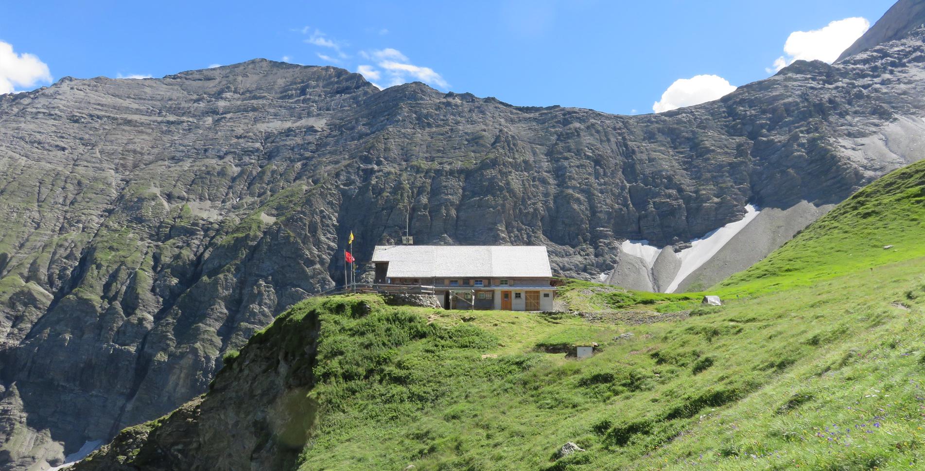 Rundanderung mitten ins Unesco Welterbe Tektonikarena Sardona von Gigerwald zur Sardonahütte