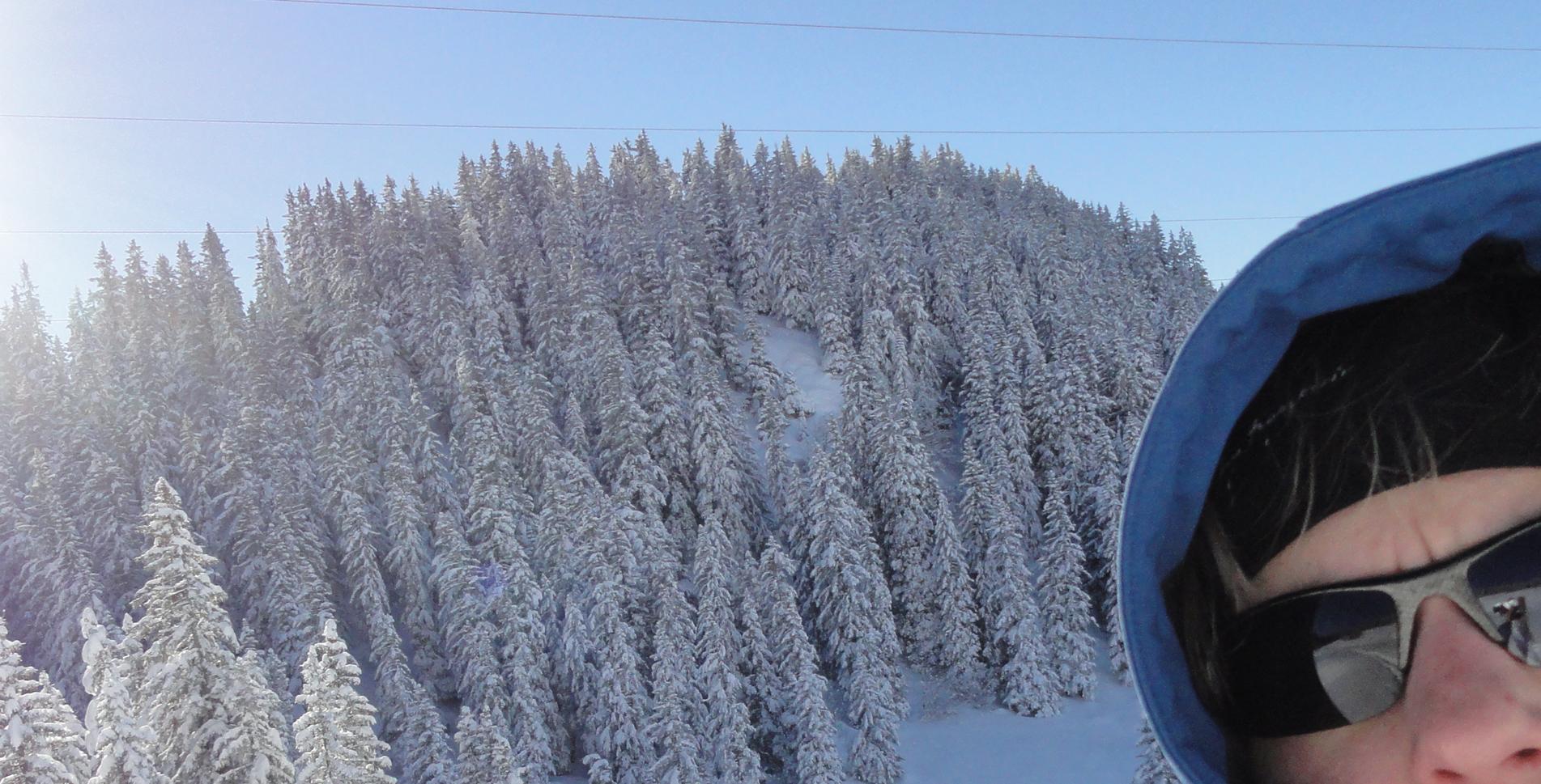 Blog WegWandern.ch – Schneeblindheit