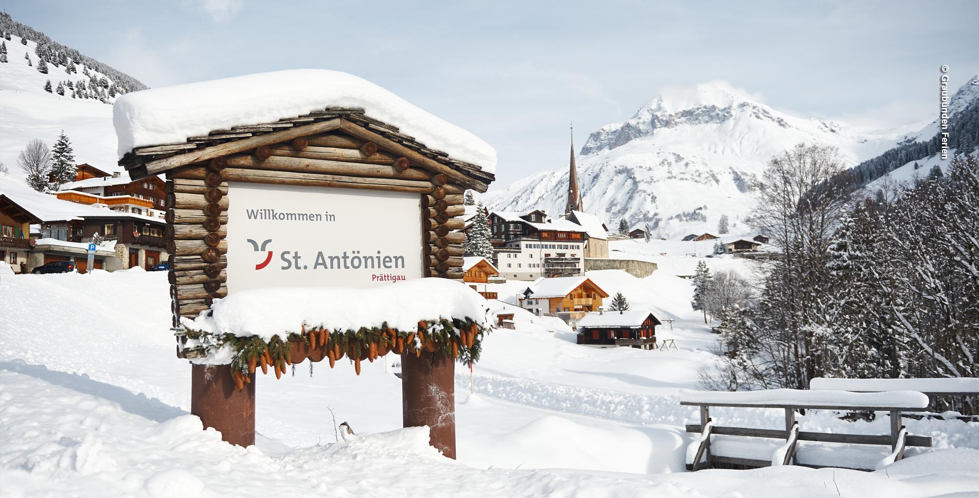 Schneeschuhtour im Prättigau auf dem Schneeschuhtrail von St. Antönien nach Pany