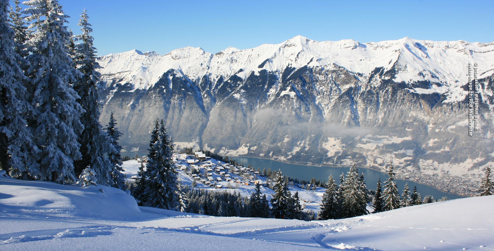 Schneeschuhtour auf der Axalp, oberhalb Brienz, zum Hinterburgseeli und wieder zurück zur Axalp