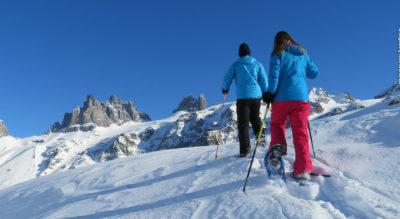 Schneeschuhtour von Engelberg Fürenalp auf dem Grotzli Schneeschuh-Trail