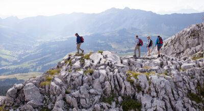 Wanderung über die Schrattenfluh von Hirsegg auf den Schibengütsch mit Abstieg über das Berggasthaus Salwideli und Rossweid nach Sörenberg