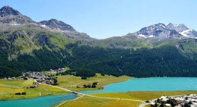 Wanderung von Sils Maria zum Lej da la Tscheppa und zum Julierpass / Julier nach Silvaplana / Silvaplanasee