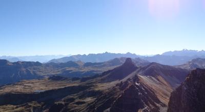 Rundwanderung Serftal via Üblital zur Skihütte Mülibachtal und zum Widerstein-Hüttli
