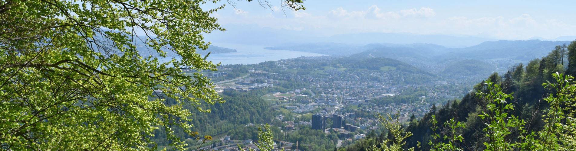 Wanderungen in und um die Stadt Zürich – Auf den schönsten Stadtwanderungen Zürich und deren Quatiere neu entdecken