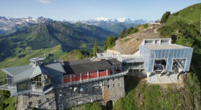 Wanderung vom Stanserhorn (Cabrio-Bahn), oberhalb Stans, auf dem Geoweg via Gummenalp nach Wirzweli oberhalb Dallenwil