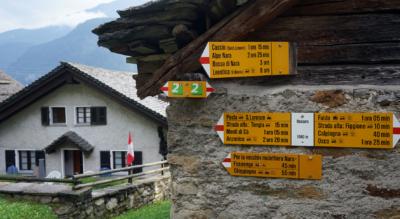 2. Etappe der Wanderung auf dem Höhenweg Strada Alta Leventina von Osco nach Anzonico