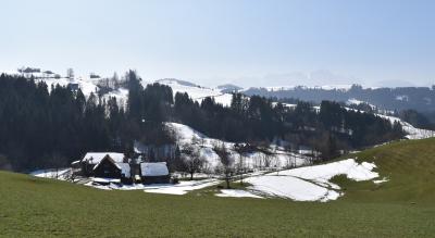Wanderung im Appenzell: Eggen-Höhenweg