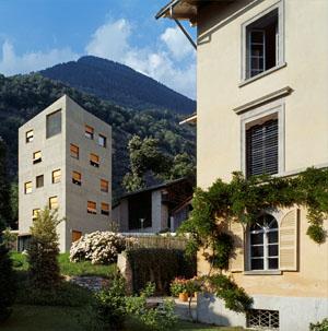 Villa Garbald im Bergell / Bregaglia