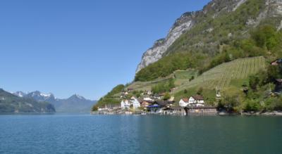 Wanderung von Quinten nach Walenstadt entlang dem Walensee