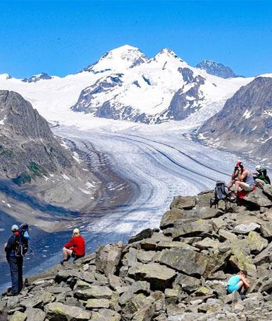 Wallis – Wanderferien und Wandern ohne Gepäck