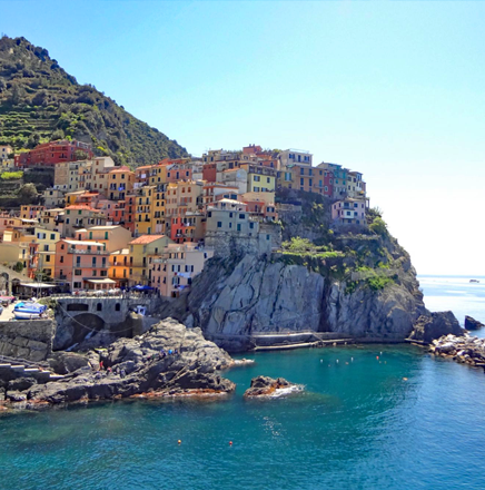 Wanderferien / Wanderreisen in der Cinque Terre