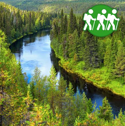 Wanderferien / Wanderreise Helsinki und Lappland