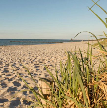 Wandern an der Ostsee, Deutschland, auf einer geführten Wanderreise / Wanderferien