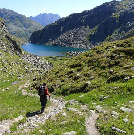 Wanderferien / Wanderreisen in der Schweiz, auf dem Vier-Quellen-Weg