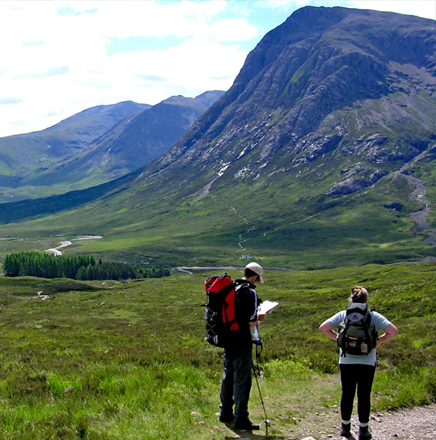 Wanderferien / Wanderreisen in Schottland auf dem West Highland Way