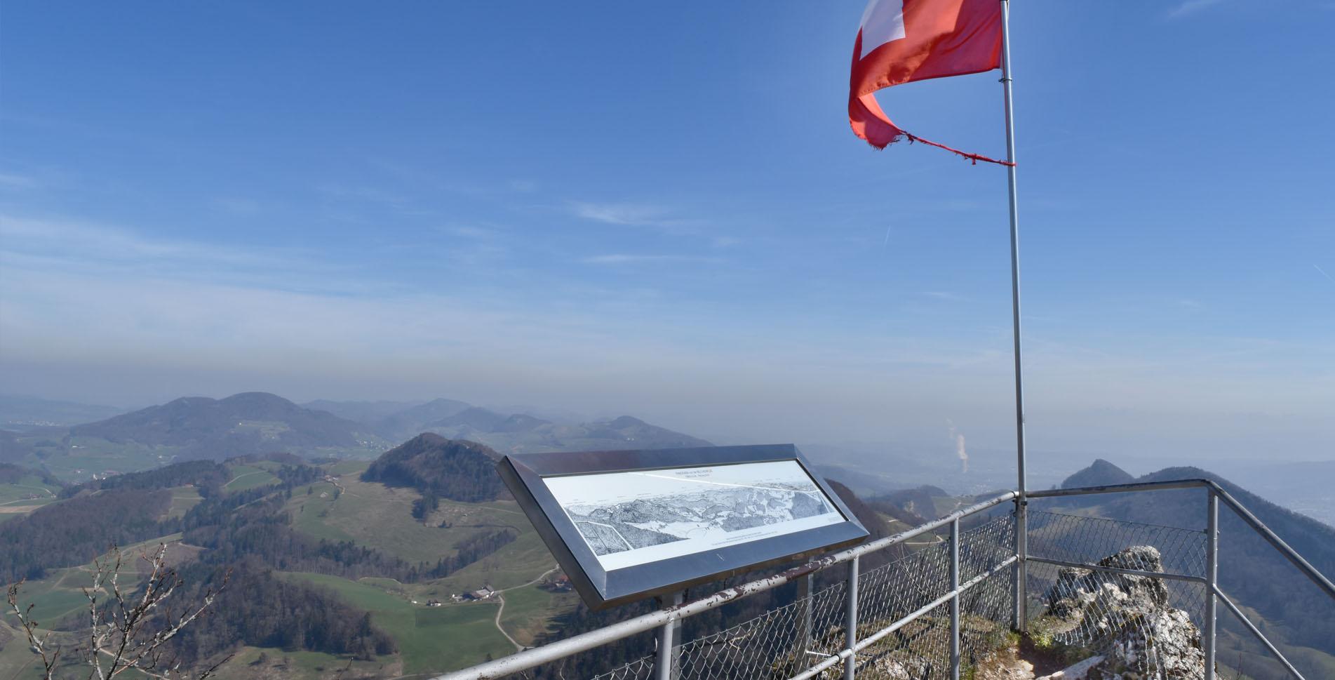 Wanderung auf die Belchenflue und durch die mystische Tüfelsschlucht von Hauenstein bei Olten via Allerheiligenberg nach Hägendorf