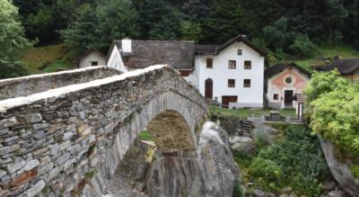 Wanderung im Calancatal / Val Calanca im Misox / Valle Mesolcina von Arvigo via Buseno, Laghet di Buseno, Piör nach Santa Maria in Calanca oberhalb von Grono