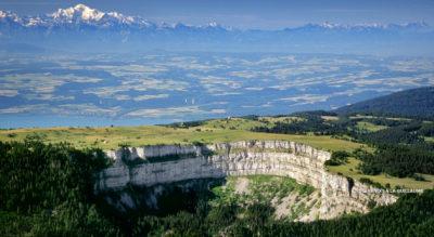 Rundwanderung Creux du Van, im Val de Travers, von Noiraigue über Le Solist und Ferme Robert