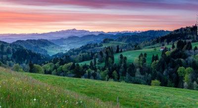 Rundwanderung auf dem Thurgauer Tannzapfenweg von Fischingen