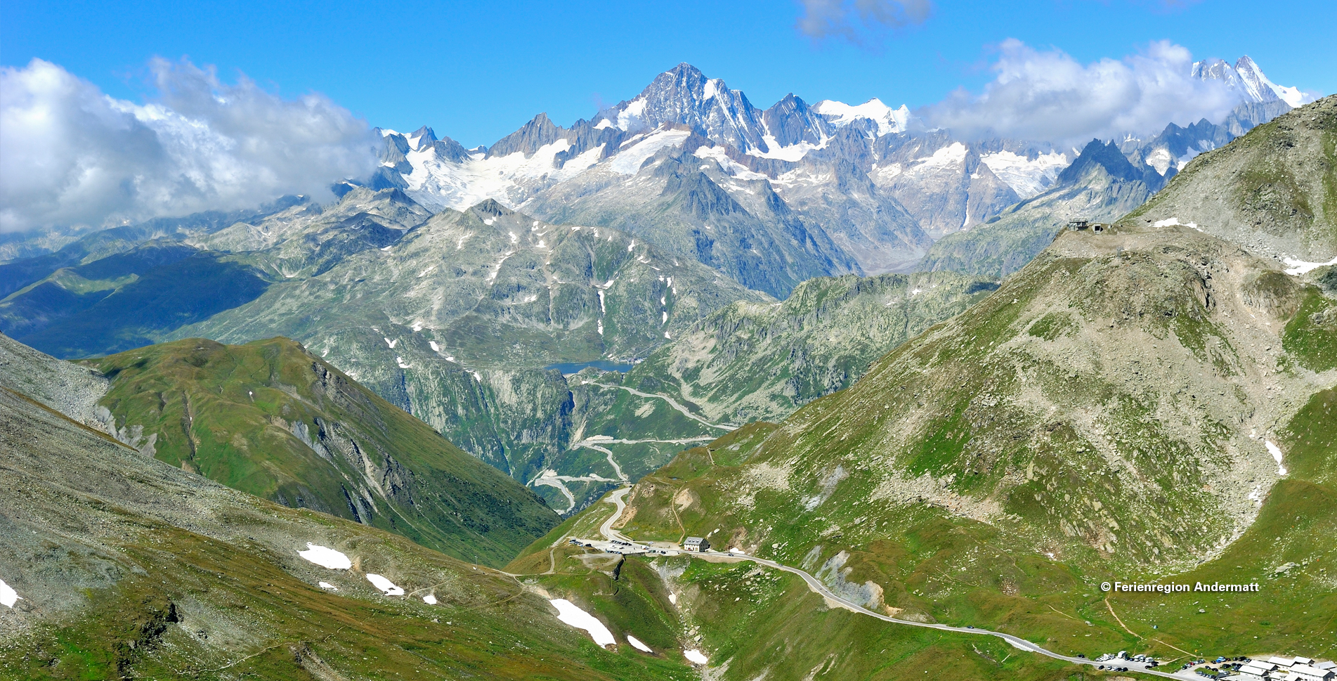 Wanderung im Ursnertal / Urschnertal vom Furkapass, Hotel Furkablick via Galenbödmen zur Sidelenhütte und mit Abstieg zur Bushaltestelle Sidelenbach (Furka)