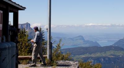 Wanderung von Riemenstalden / Gitschen zur Lidernenhütte im Riemenstaldnertal und auf den Chaiserstock