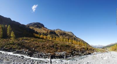 Wanderung von Monstein Davos via Oberalp, Fanezmeder, Fanezfurgga, Ducantal, Cheren, Wasserfall, Chleinalp, Sand zum Sertig Dörfli im Sertigtal