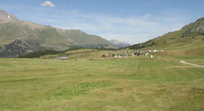 Wanderung im Parc Ela von Savognin zur Alp Flix und weiter via Marmorera, Alp Natons nach Bivio auf der der 3. Etappe der Via Sett