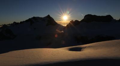 Wanderung Hinter Sand – Planurahütte – Claridenhütte – Fisetenpass